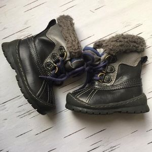 Gap boys high winter boots baby size 5